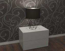 3D model Lamp - night table light interior