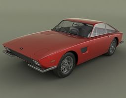 TVR Trident Coupe 3D Model