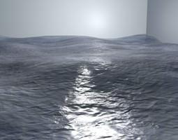 3D model Photorealistic Water