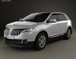 3D model Lincoln MKX 2011 mkx