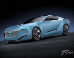 3D Buick Riviera concept 2013