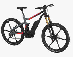 Electric bike 3D