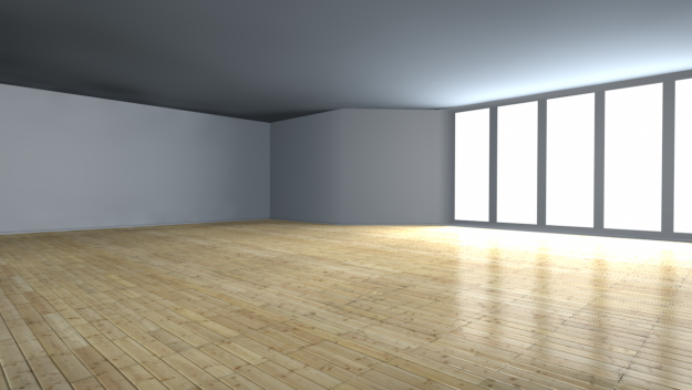 Photorealistic Room 3d Model C4d 3
