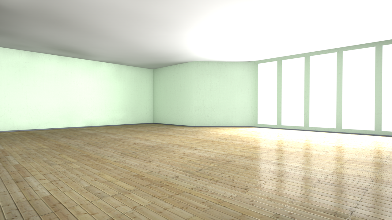 Photorealistic Room 3d Model C4d