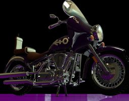 Prince Purple Rain Bike 3D