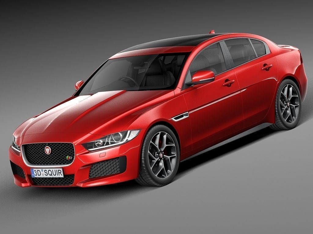 jaguar xe s 2016 3d model max obj 3ds fbx c4d lwo lw lws. Black Bedroom Furniture Sets. Home Design Ideas