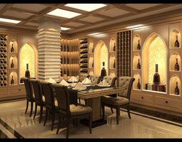 3D model Wine cellar indian