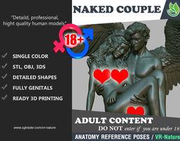 3D print model Angel and Woman 1803093