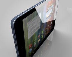 prestigio multipad 4 3d model obj fbx