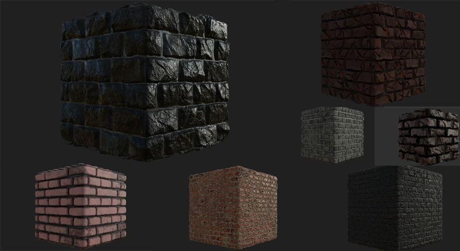 Brick Wall materials