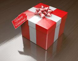 3D asset Gift box