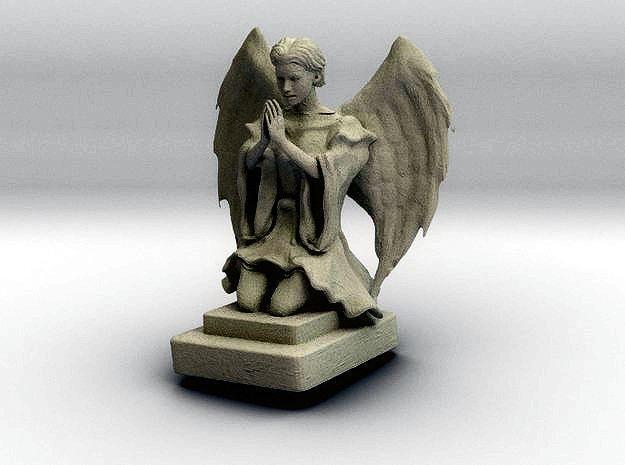 stone angel 3d model stl 1