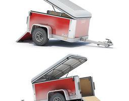 Cargo Trailer 03 3D Model