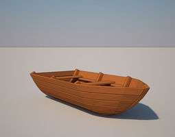 3D Small Boat