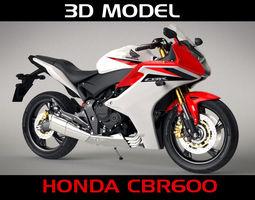 Honda CBR 600f 3D Model