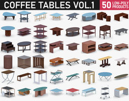 3D model Coffee Table - Vol 1