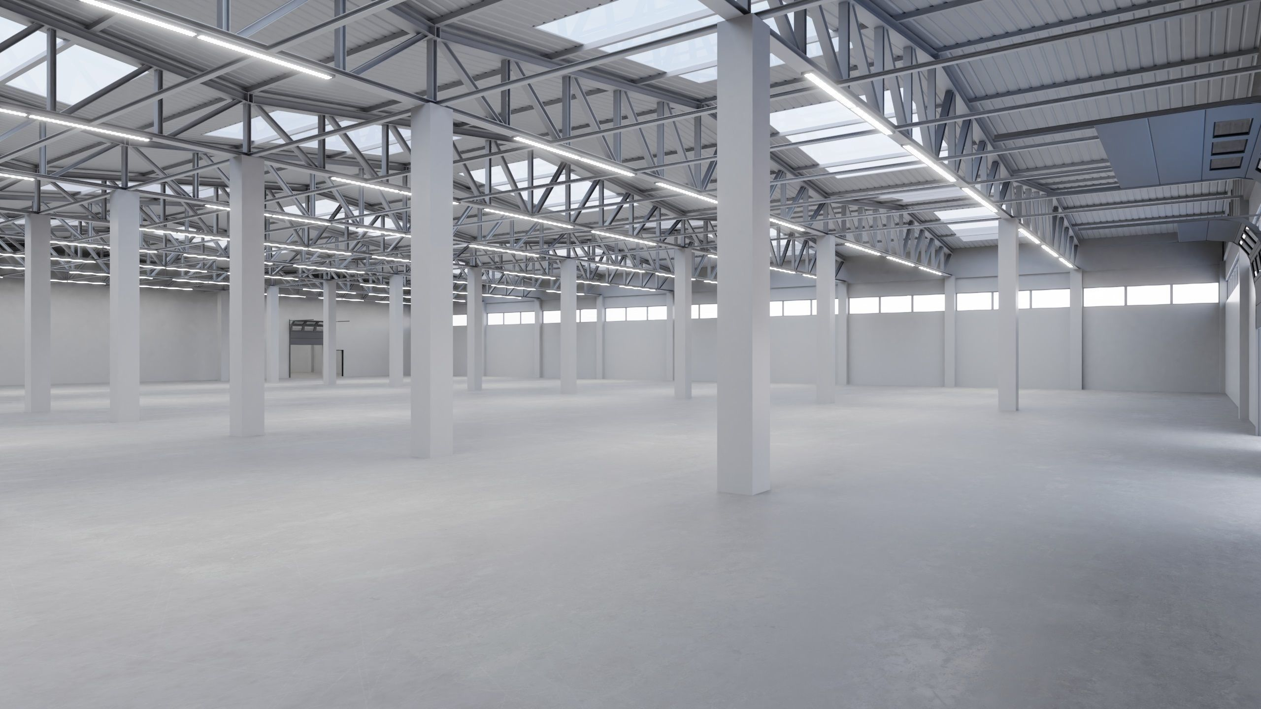 Industrial Warehouse Interior 2