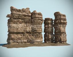 Desert Rock 05 3D Model