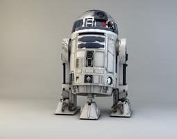 3D model StarWars R2D2
