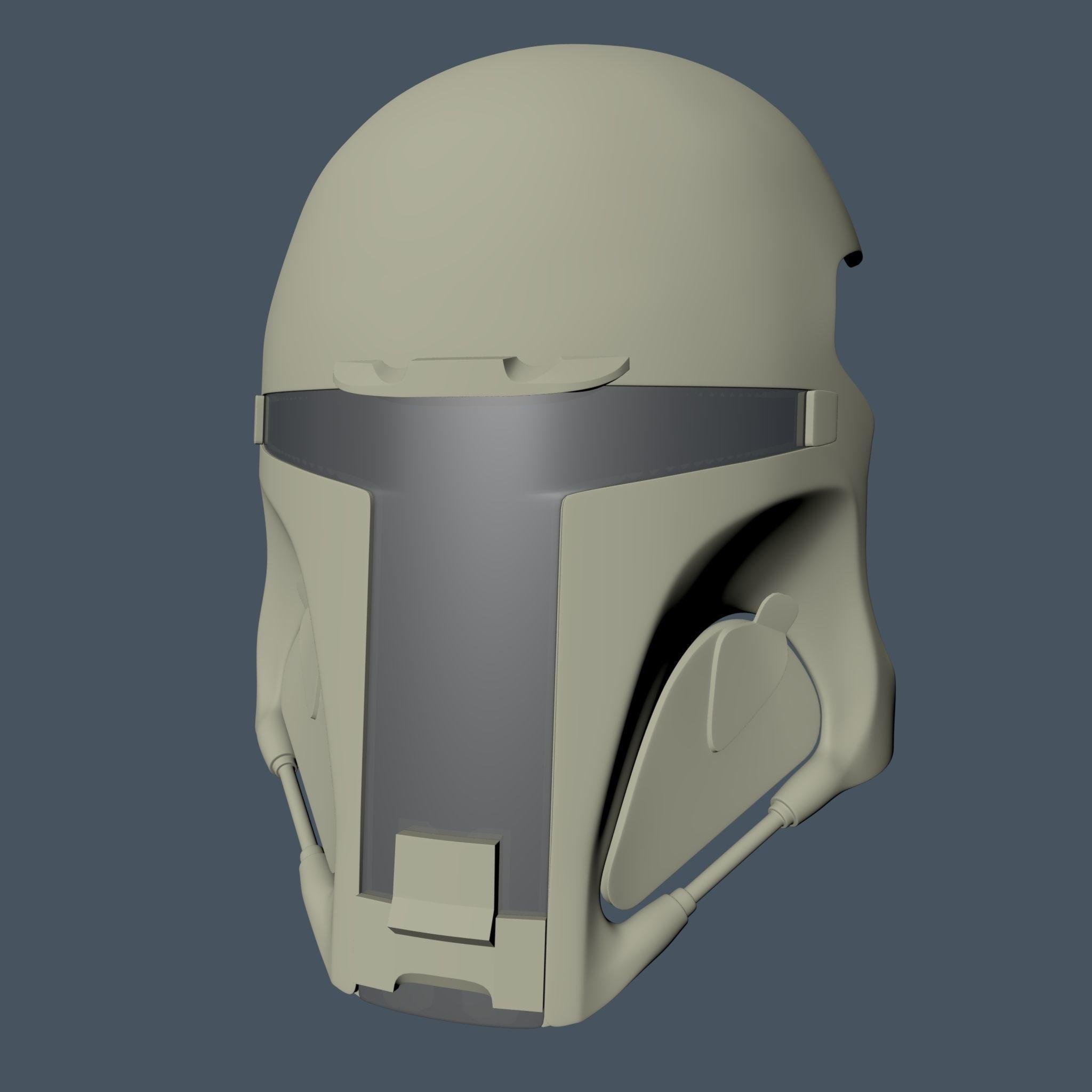 Boba Fett style airsoft visor