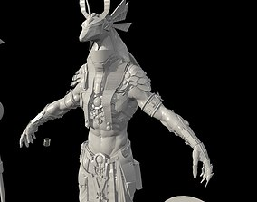 Anubis Hig poly Zbrush project 3D model