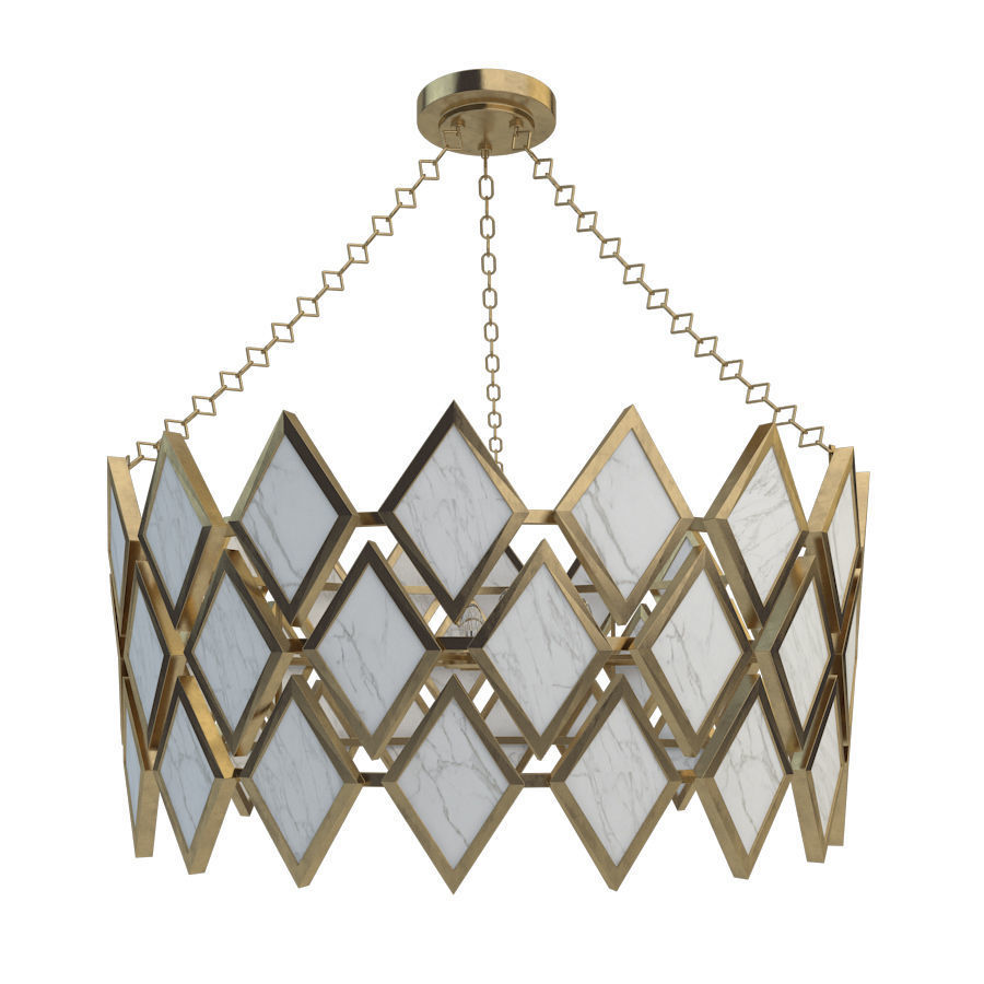 Robert abbey edward chandelier modern brass 3d model 2 robert abbey edward chandelier modern brass finish with marble 3d model max fbx unitypackage mozeypictures Gallery