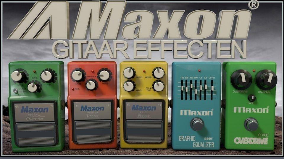 Maxon Guitar Pedals