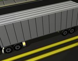 Aeromax Semi Truck 3D Model