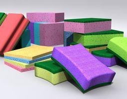 3D model Kitchen Sponge