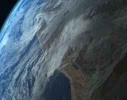 Photorealistic Earth 3D model