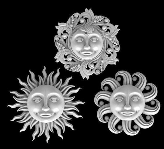 sun-star  3d model max obj mtl 3ds fbx stl 1