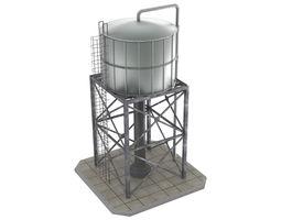Water Tank 1 3D model low-poly