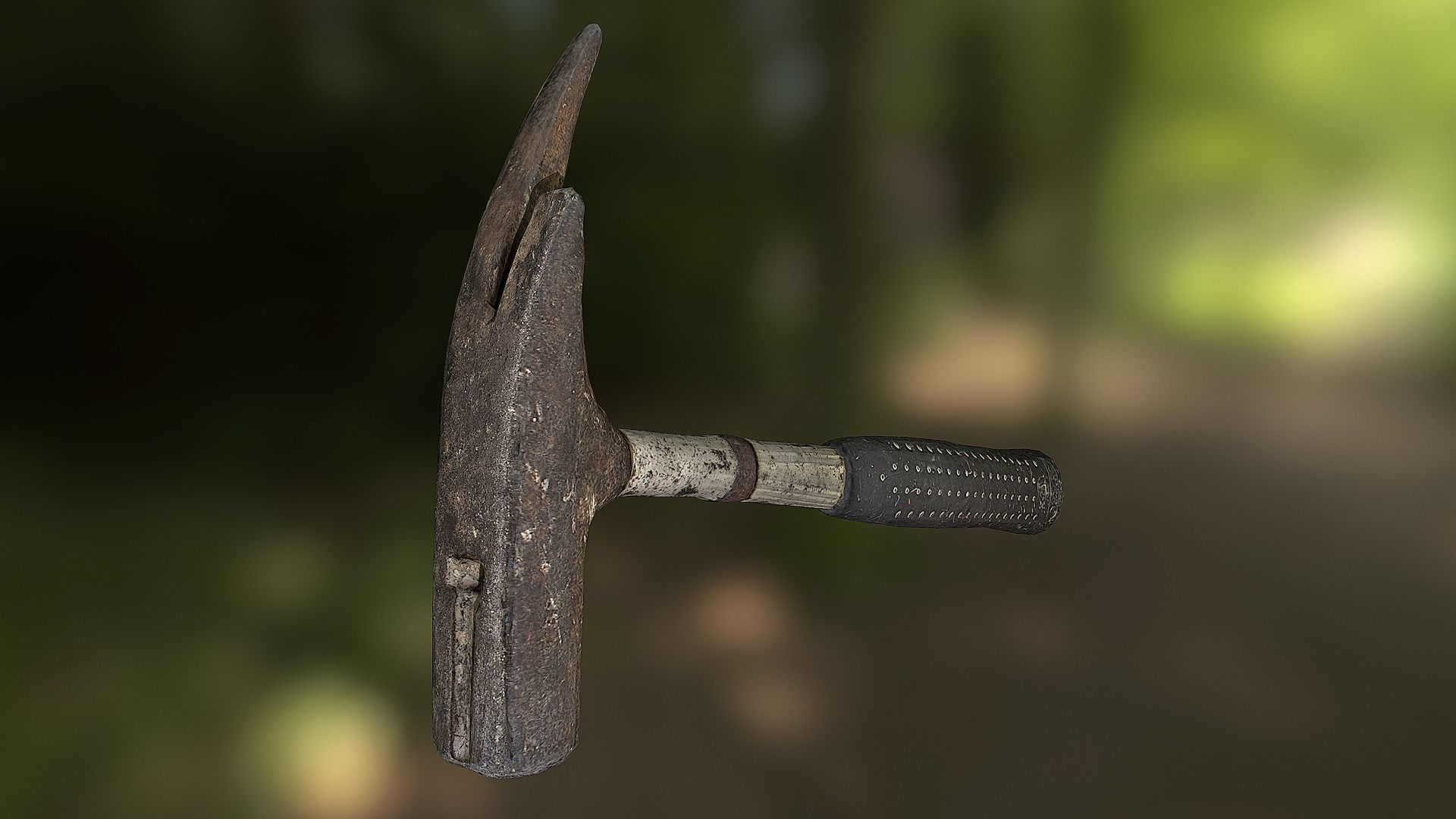 Claw Hammer low poly 3D model