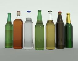 Bottles Collection 3D