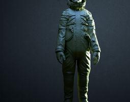 3D print model Soviet space suit