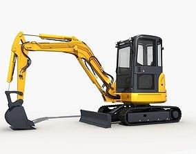 3D Mini Excavator