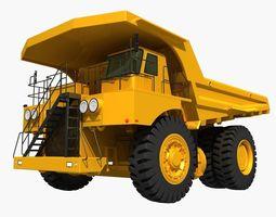 Mining Dump Truck dumper 3D model