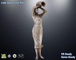 Lady Statue 3D model