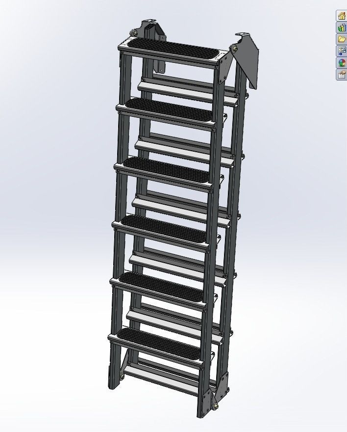 Attic Ladder 3D