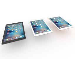 Apple iPad ipad tablet 3D