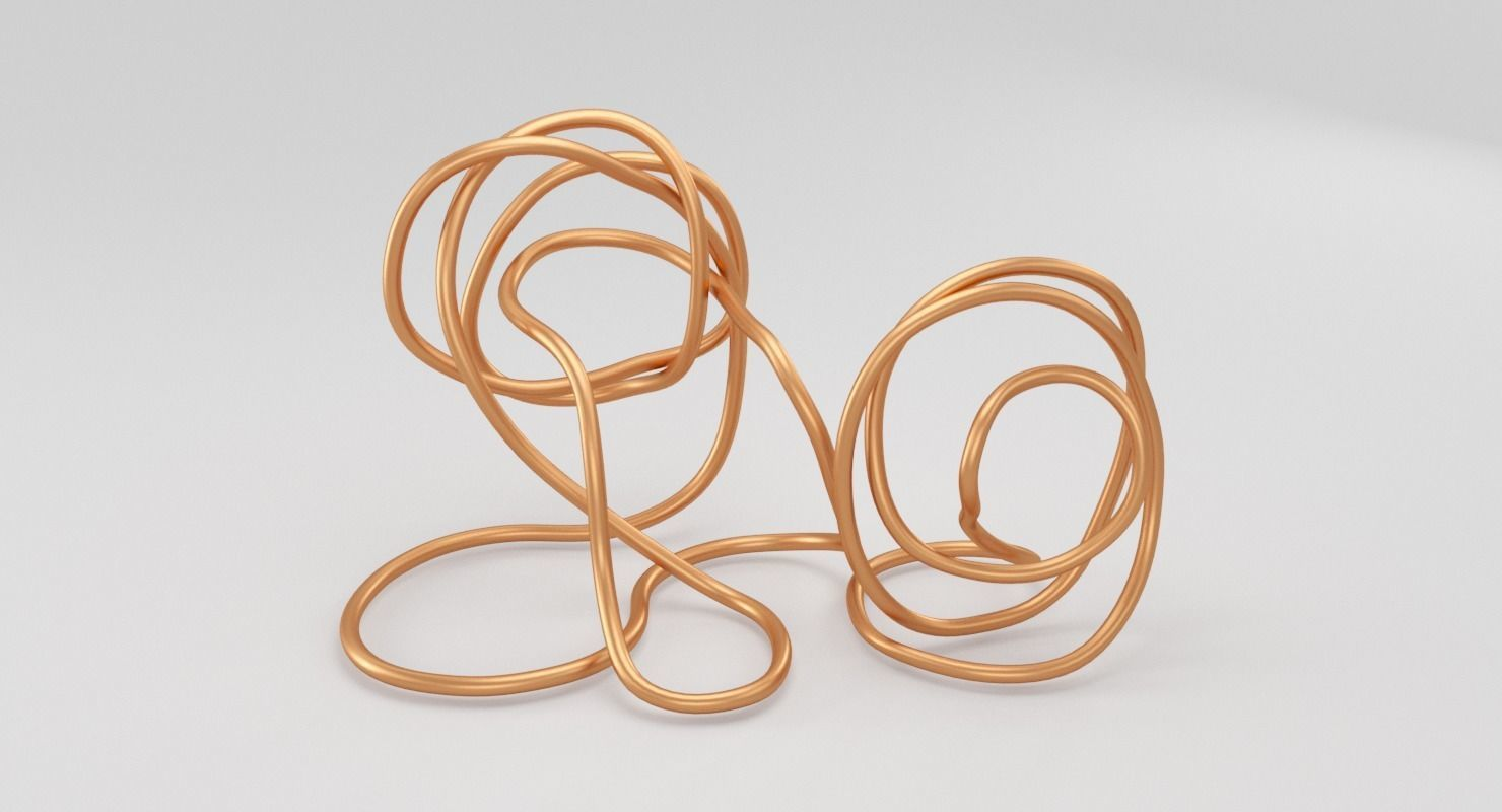 Copper Wire Sculpture
