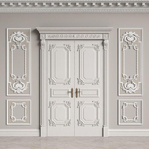 classic interior decor 2 3d model max obj mtl fbx 1