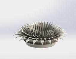 3D print model holder for candle