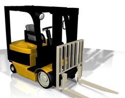 Yale Forklift 3D asset