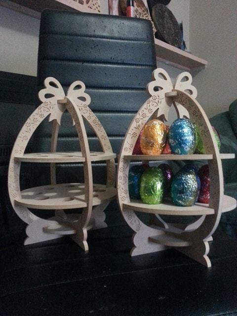 Happy Easter Egg holder