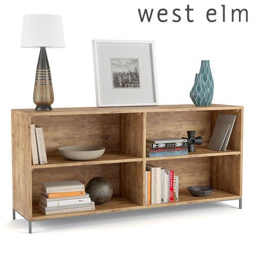 West Elm Modular Bookcase Model Max Fbx 1