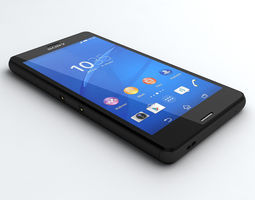 Sony Xperia Z3 Compact 3D Model