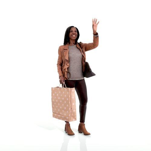 waving woman with sopping bag cwom0221-hd2-o01p02-s 3d model max obj mtl tga 1