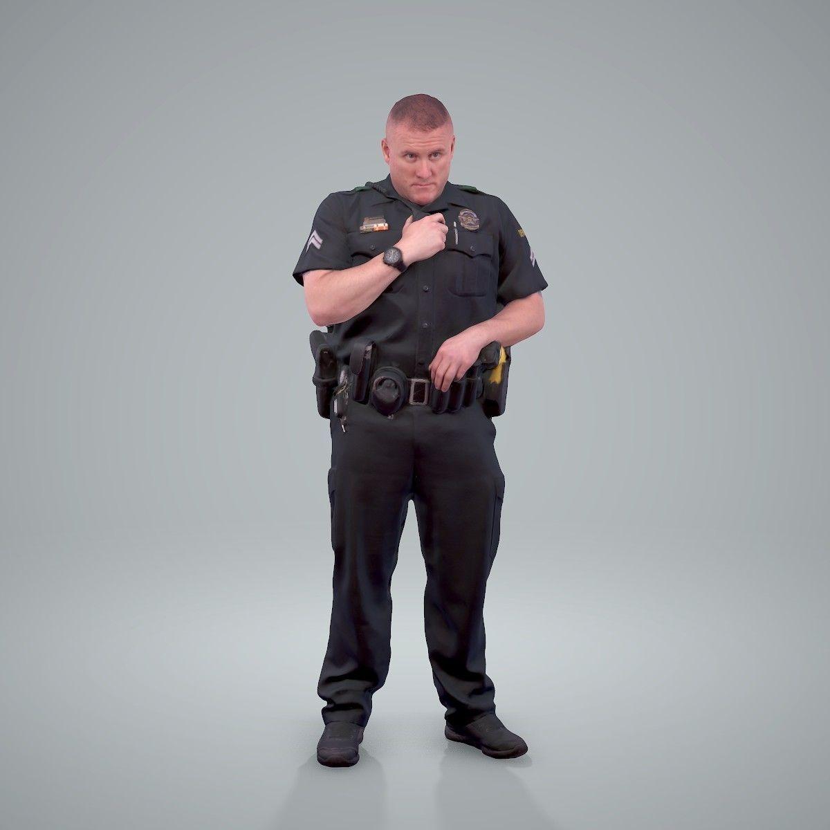 Policeman Talking to Ration CMan0208-HD2-O01P01-S