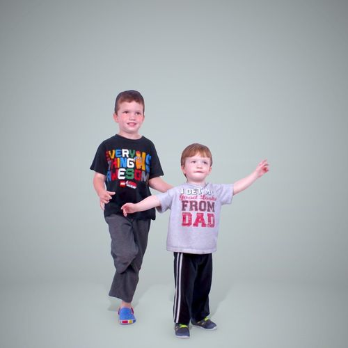 two child boys cboy0202-hd2-o01p01-s 3d model max obj mtl tga 1
